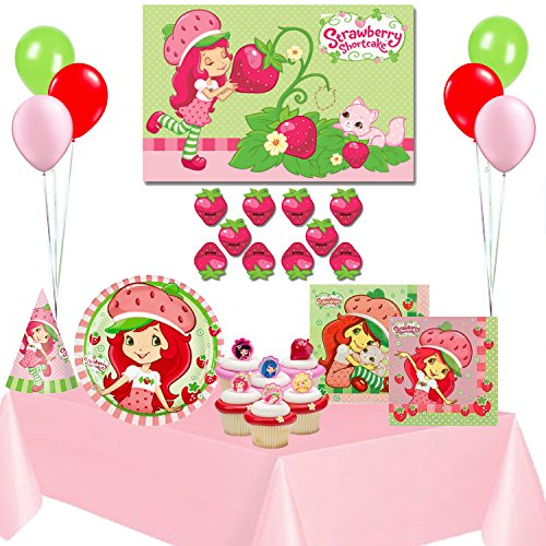 Strawberry Shortcake Birthday Party Supplies Complete Set ()