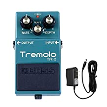 Boss TR-2 Tremlo Pedal with PigHog PP9V PowerPig 9V DC 1000ma Power Supply