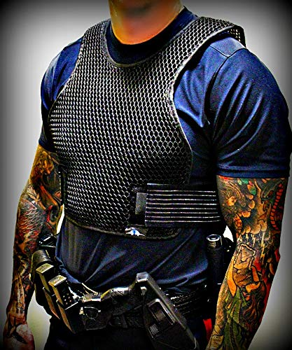 Armadillo Dry Cooling Vest - Body Armor Ventilation, Air Flow for Ballistic and Tactical Vests, Keeps You Cool Under Internal Carriers and External Carriers (Large)