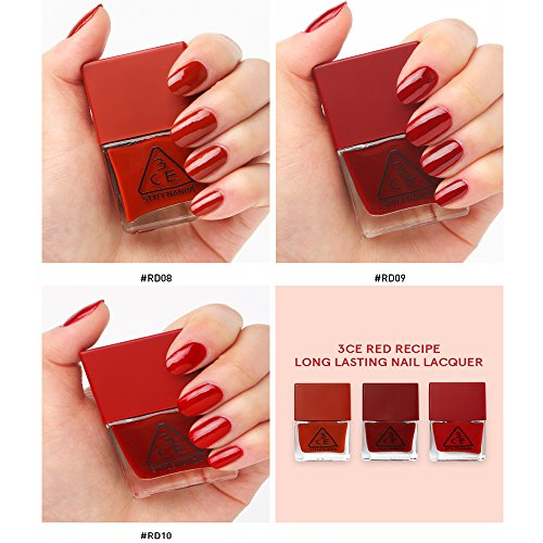 3CE-Red-Recipe-Long-Lasting-Nail-Lacquer-3-colors-SET-stylenanda