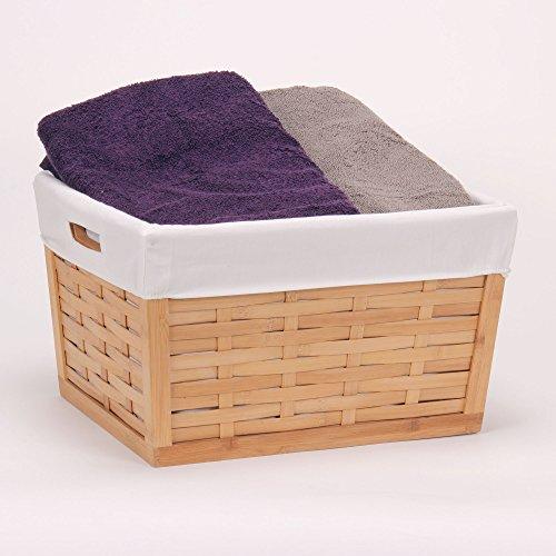 [해외]가정용 필수품 대나무 바구니, 바구니 직조/Household Essentials Bamboo Basket, Basket Weave