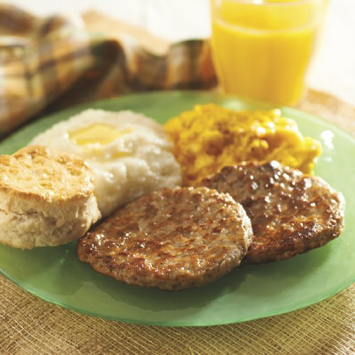 Pre-Cooked Restaurant Style Sausage Patties (4/16 oz.)