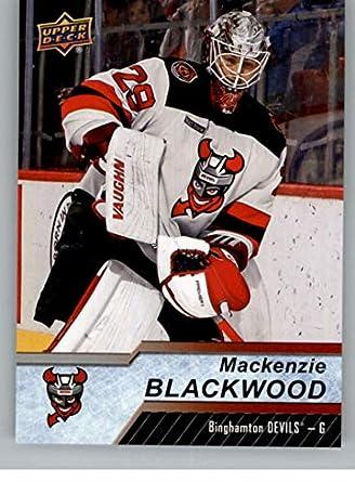 new style 5c3ba b20c1 Amazon.com: 2018-19 UD AHL Hockey #70 Mackenzie Blackwood ...