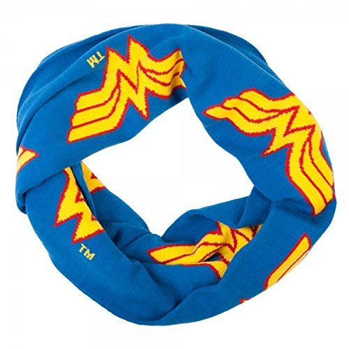 Wonder Woman Infinity Knit - Woman Scarf Wonder