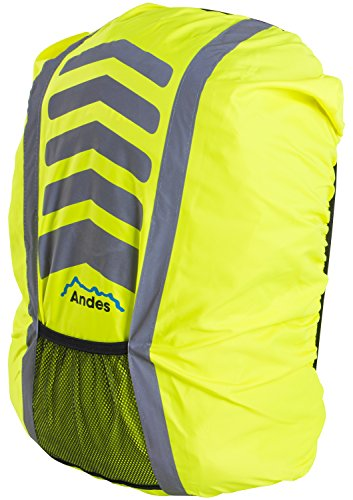 f53b1f24d476 Andes High Vis Waterproof Running Cycling Rucksack Backpack ...