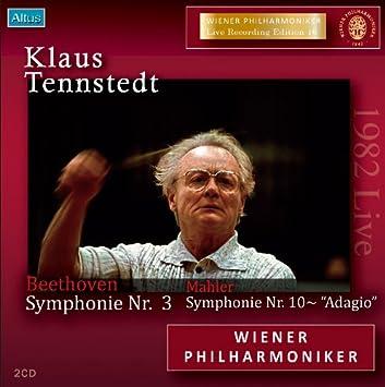 ベートーヴェン:交響曲第3番 「英雄」、マーラー:交響曲第10番より アダージョ (Klaus Tennstedt / Beethoven : Symphonie Nr.3, Mahler : Sym. Nr.10 - ''Adagio'' / Wiener Philharmoniker 1982 Live) [2CD] [日本語解説付]