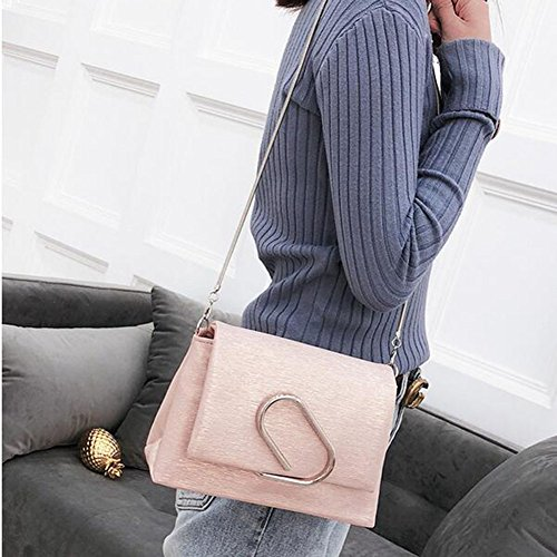 Bags Handbags Bags Bag Shoulder Shopping Clutches Shoulder Leather Women Bag Women's Bag Bag Pink Fashion Women Tote Handbag avFwY