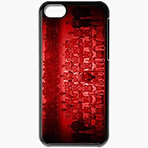 Personalized iPhone 5C Cell phone Case/Cover Skin Arsenal London Football Black