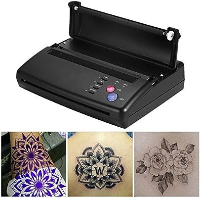 Máquinas de Tatuaje Profesional A5 A4 Transferencia de Tatuaje Máquina de Impresora Copia Térmica Copiadora de Plantilla Tatuaje para Impresora de ...