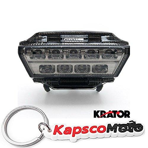 Amazon.com: Krator Kawasaki Ninja ZX10-R ZX10R Smoke LED ...