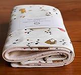 Woodland Animals Baby Burp Cloths Gift, Meadow Run