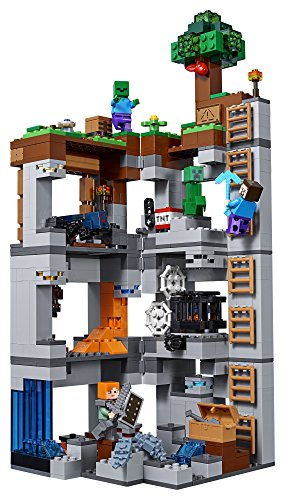 51zKaIpvK%2BL - LEGO Minecraft The Bedrock Adventures 21147 Building Kit (644 Piece)
