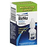 B&L Lube Rewet Drop Size .27z Bausch & Lomb Renu Lubricating And Rewetting Eye Drops