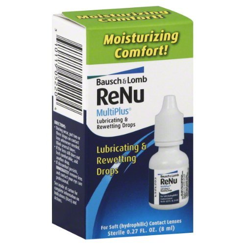 B&L Lube Rewet Drop Size .27z Bausch & Lomb Renu Lubricating And Rewetting Eye Drops by Bausch & Lomb
