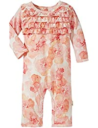 Baby Girls' Romper Jumpsuit, Long Sleeve One-Piece...