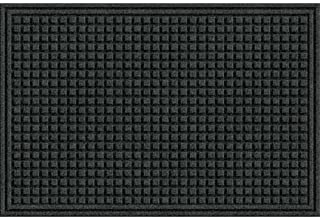product image for Apache Mills Eco Mat Squares Entrance Door Mat, 2-Feet by 3-Feet, Onyx