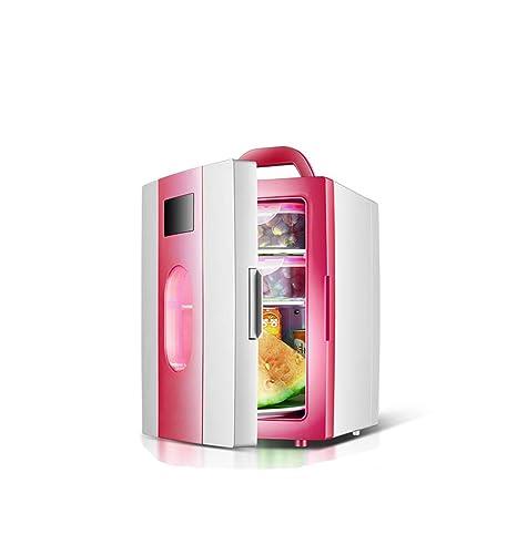 Refrigerador del coche, simple 10 litros 12V pequeño congelador ...