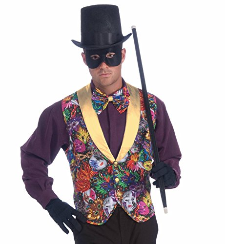 Forum Masquerade Party Costume, Multi-Colored, One Size