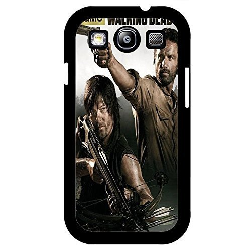 Samsung Galaxy S3 I9300 Cover Shell Cool Rick Grimes Design Horror Zombies TV The Walking Dead Phone hülle Handyhülle Cover Hipster Weird,Telefonkasten SchutzHülle