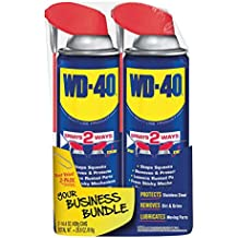 WD-40 Multi-Use Product, 14.4 oz. Smart Straw Twin-Pack Lubricant Spray