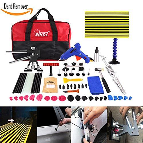 WHDZ 72Pcs Car Body Paintless Repair Removal Tools Automotive Door Ding Dent Silde Hammer Glue Puller Repair Starter Set Kits For Car Hail Damage And Door Dings Repair by WHDZ (Image #7)