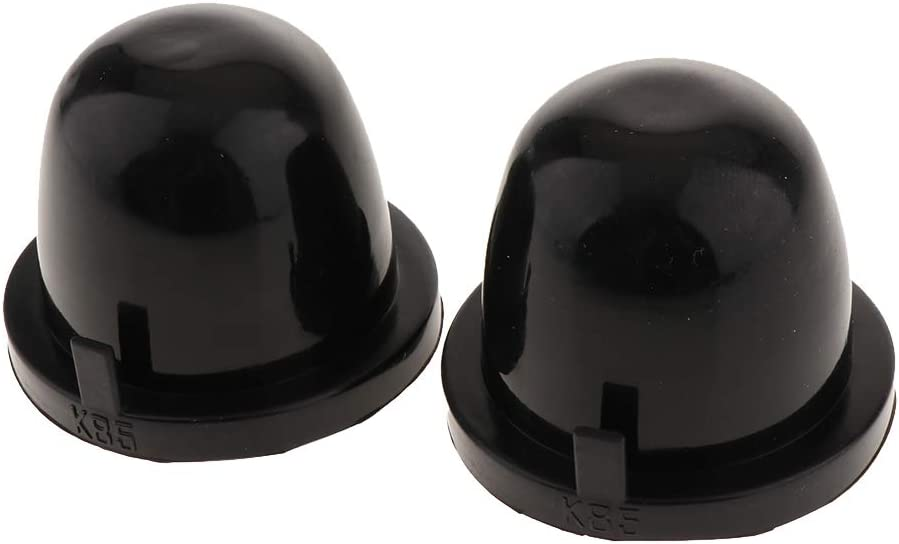 B Blesiya 85mm Geh/äuse Dichtungskappe Staubschutz Kappe F/ür Auto LED HID Lampe Scheinwerfer-1 Paar