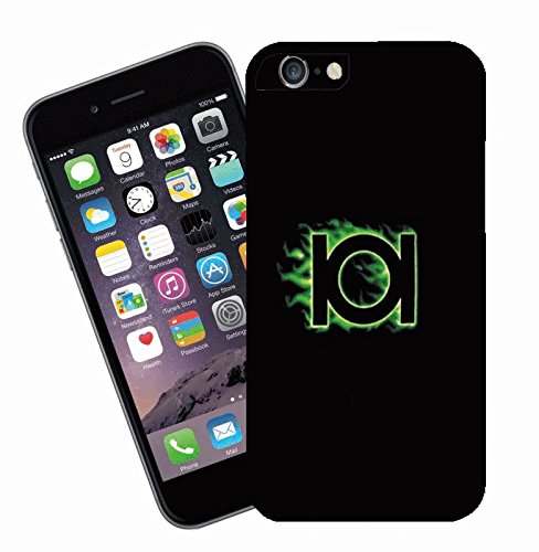 Green Lantern logo - This cover will fit Apple model iPhone 7 (not 7 plus) - By Eclipse Gift Ideas
