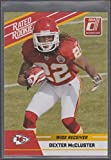 2010 Donruss Dexter McCluster Chiefs Rated Rookie Football Card #31
