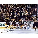 Patrice Bergeron Boston Bruins Signed Autographed Comeback Celebration 16x20