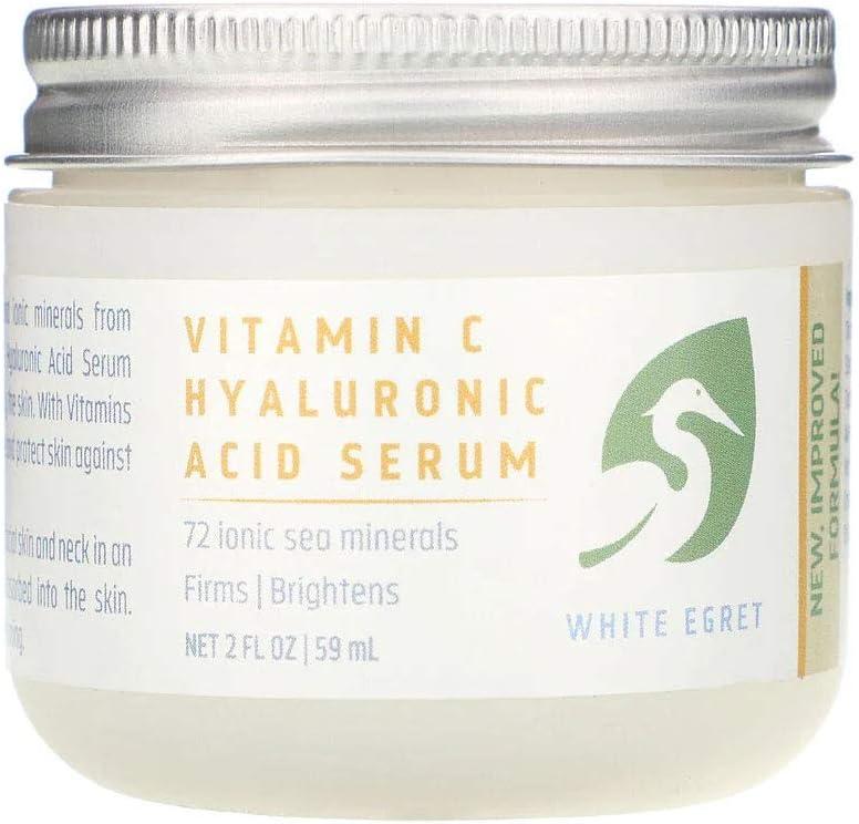 White Egret Personal Care Vitamin C Hyaluronic Acid Serum - 59 ml