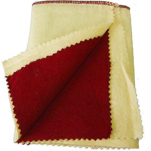 "Rouge Polishing Cloth (12"" x 12"" Jewelry Double Layered Polishing Cloth)"