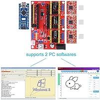 BONROB Tarjeta de Expansión de Grabado CNC Nano con Conductores de ...