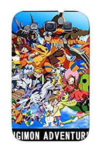 High Quality Shock Absorbing Case For Galaxy S3-digimon Adventure Anime Animage