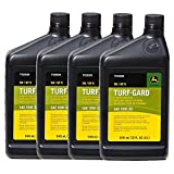 John Deere Original Equipment TURF-GARD 32 oz. 10W-30 Oil #TY22029 (PACK OF 4)