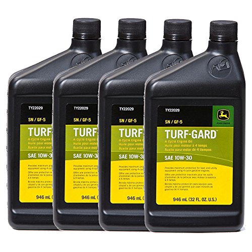 Engine Guard Kit - John Deere Original Equipment TURF-GARD 32 oz. 10W-30 Oil #TY22029 (PACK OF 4)