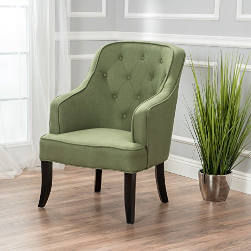 (Christopher Knight Home 299251 Sophia Arm Chair, Green)