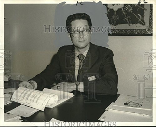 1970 Press Photo Businessman Manager Steve Fairfield of D.H. Holmes - Malls Fairfield