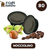 80 capsule compatibili Lavazza a modo mio - 80 capsule Nocciolino compatibili macchina caffè Lavazza a modo mio - Macchina caffè Lavazza kit 80 capsule compatibili - Il Caffè Italiano