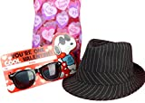 Subtle Addition Valentines Day Gifts For Kids Fedora Hat Gift Set For Boys