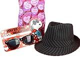 Subtle Addition Valentines Day Gifts For Kids Fedora Hat Gift Set For Boys
