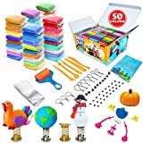 ESSENSON Modeling Clay Kit - 50 Colors Air Dry