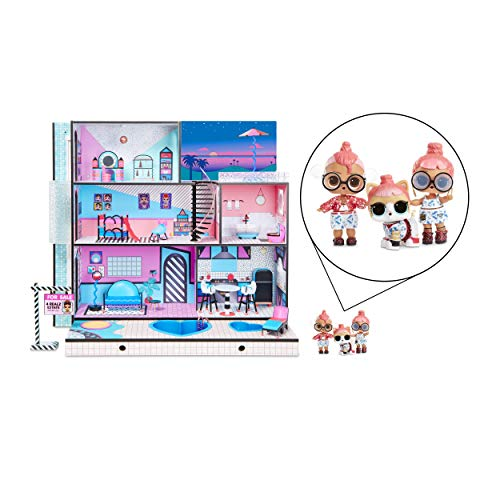 L.O.L. Surprise!- Casa con Madera Real y 85+ Sorpresas, Multicolor (MGA Entertainment UK LTD 560531) , color, modelo…