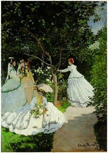 Editions Ricordi 6001N33013 - Puzzle de 2000 Piezas del Cuadro Mujeres en el jardín de Monet: Amazon.es: Juguetes y juegos