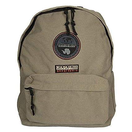 molto carino 6e9ca bcc41 Napapijri Bags Zaino Casual, 40 cm, 22 liters, Verde (Khaki)