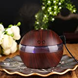 TOPmountain Wood Grain LED Air Aroma Essential Oil Diffuser Purifier Ultrasonic Aromatherapy Humidifiers