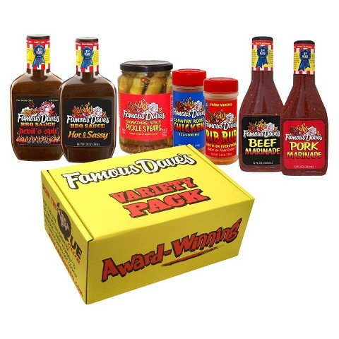 Famous Dave's Variety Hot Gift Box