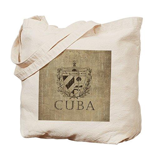 CafePress–Vintage Cuba–Gamuza de bolsa de lona bolsa, bolsa de la compra