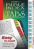 Versefinders Bible Index Tabs - Rainbow Colors, Horizontal