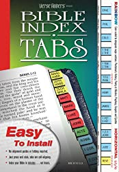 Versefinders Bible Index Tabs - Rainbow Colors, Horizontal
