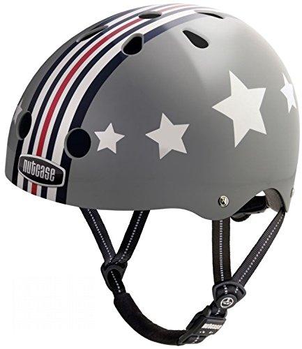 GEN3 Nutcase Helm 'Silver Fly' Classic Street Helmet, Größe (Kopfumfang):L (60-64cm)